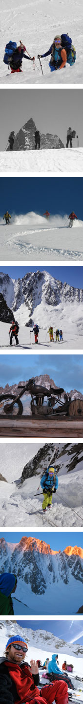 ski tour haute route chamonix zermatt