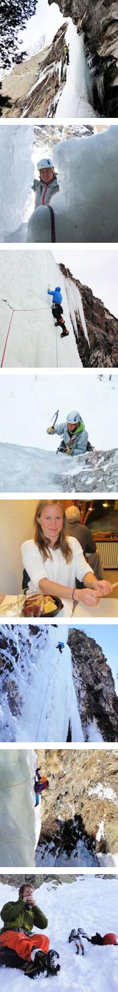 ice climbing Chamonix