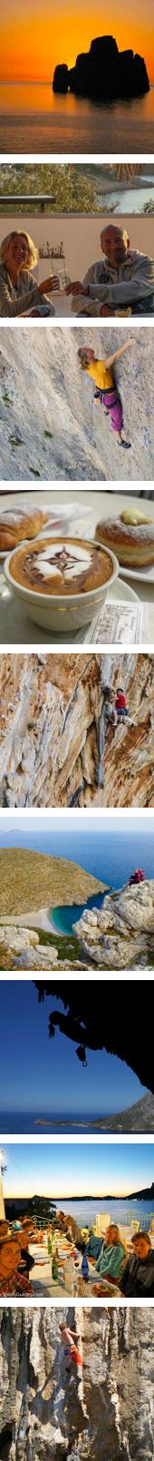 Sardinia Sicily rock climbing