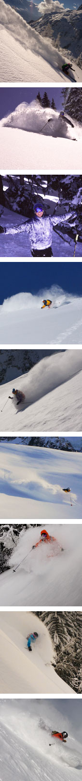 guided off piste skiing ski best snow