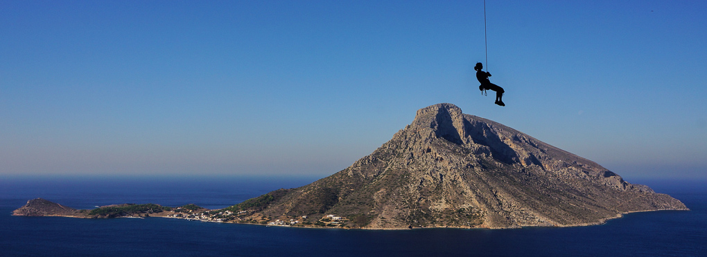 kalymnos guided rock climbing