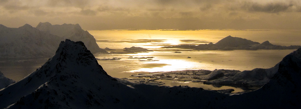 guided ski touring Lofoten