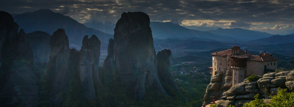 meteora guided rock climbing