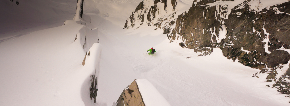 guided off piste skiing St Anton Arlberg