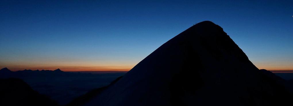 4000m peaks swiss valais alps