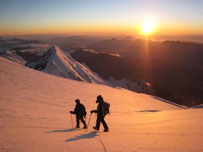 Easy 4000m Alpine Peaks