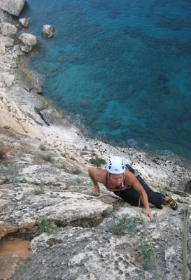 Cala Gonone rock climbing - Oceano di Mare multi-pitch