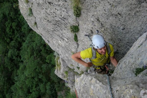 Climbing Velebitanski, 6a+, 350m,
