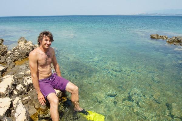 Starigrad swimming