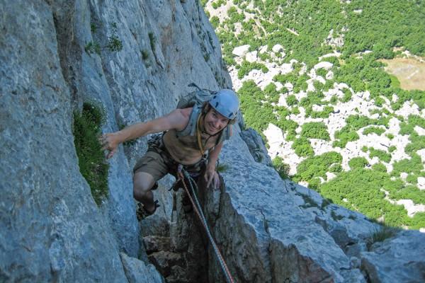 Climbing Paklenica, Morosaki, Anica Kuk