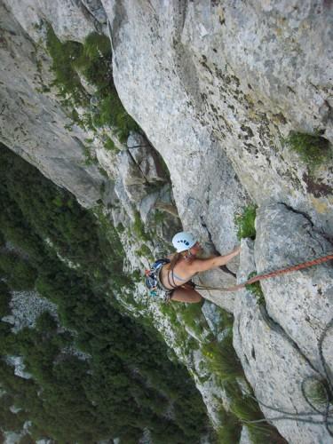 Climbing Paklenica national park