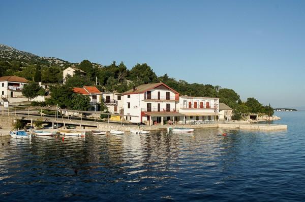 Idyllic villages along the Croatian coast