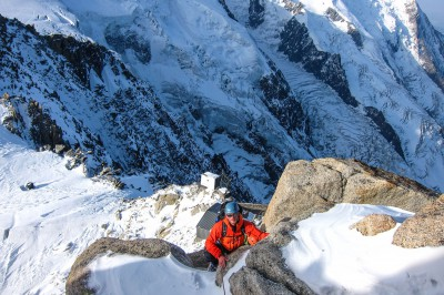 Preparation climb for Mt Blanc