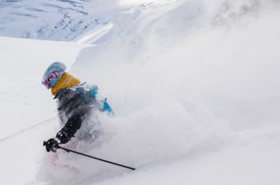 Eva in the Easter powder